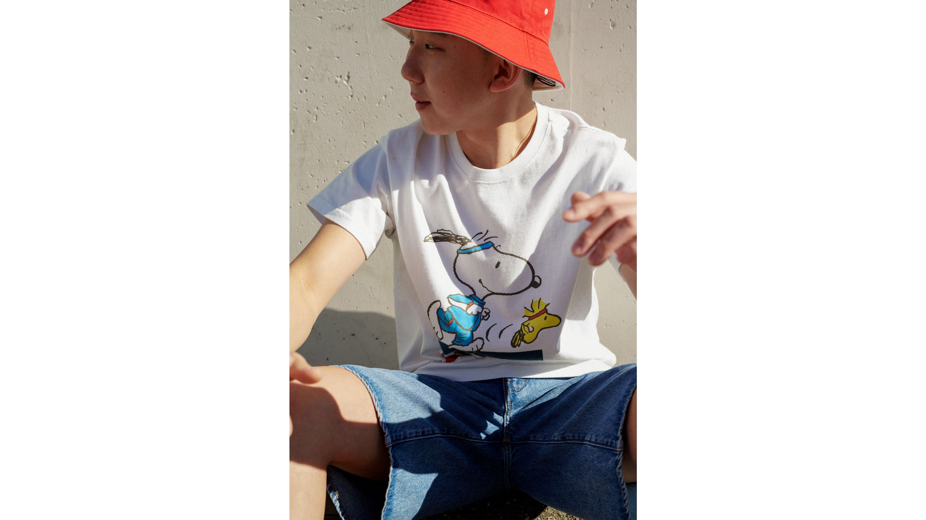 Levis X Peanuts Relaxed Fit Tee Shirt