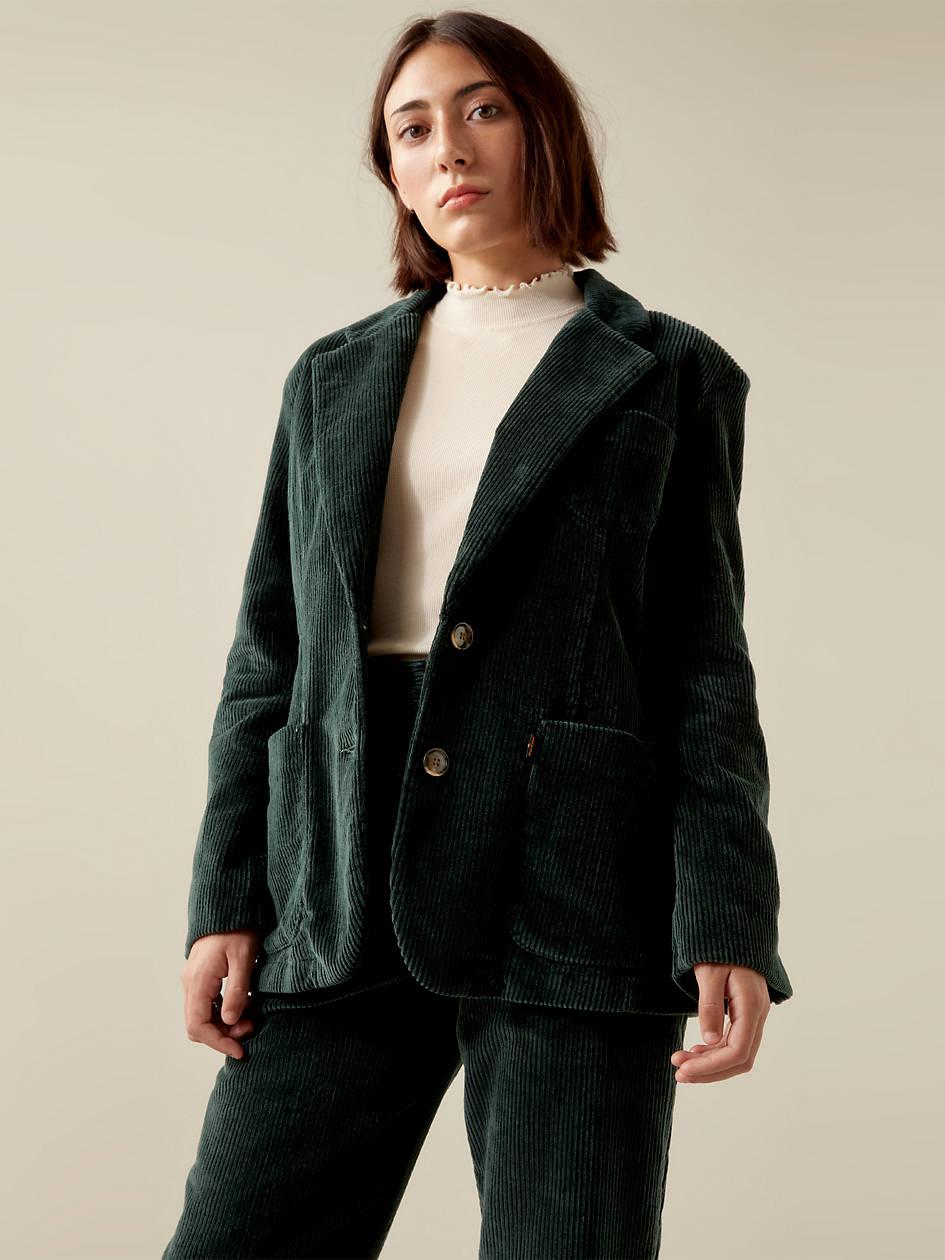 Levi's® X Karla Blazer - Green | Levi's® US