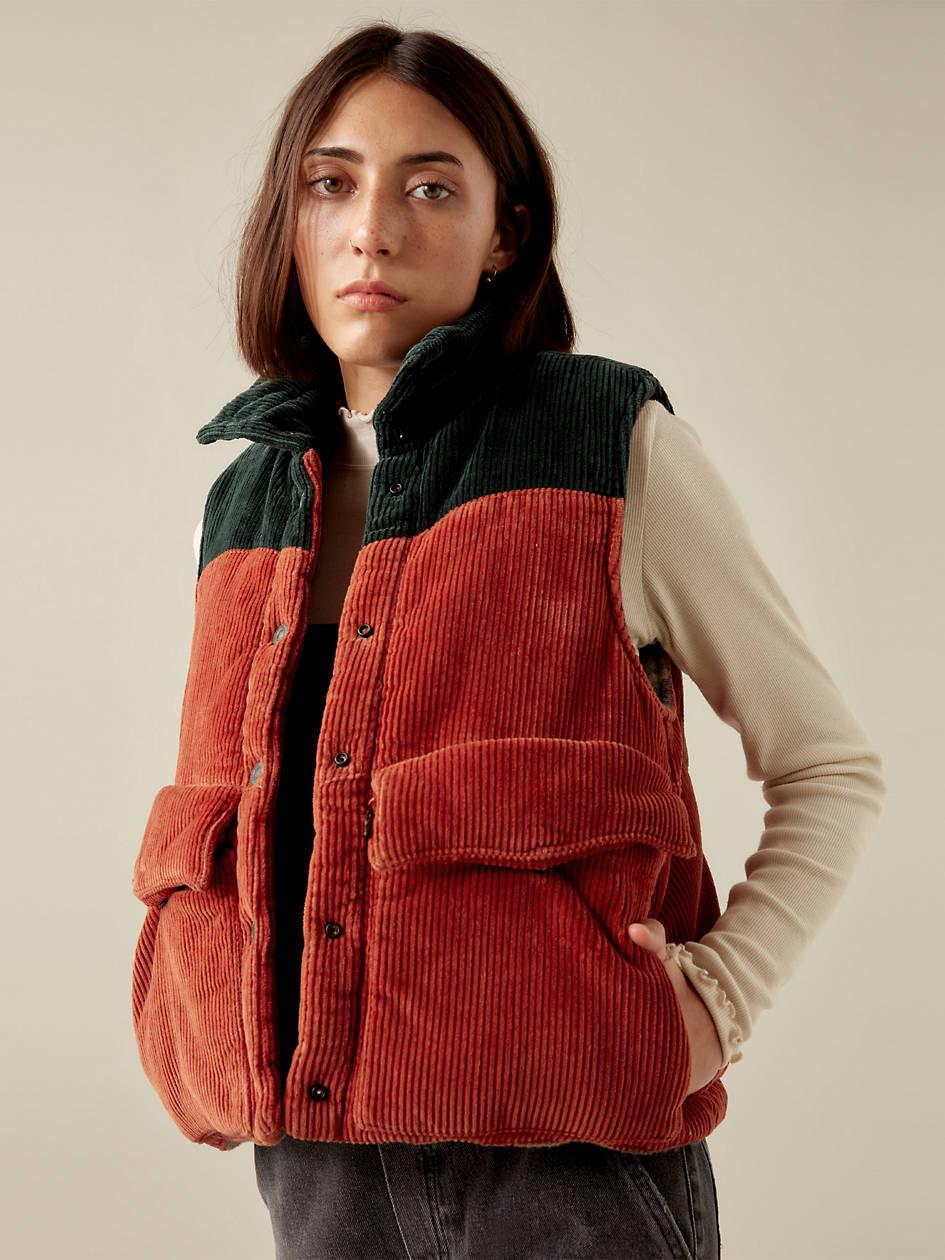 Levi's® X Karla Puffy Vest - Green | Levi's® US