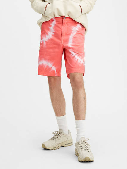Levi's® XX Chino Taper Fit Tie Dye 9.5 in. Mens Shorts
