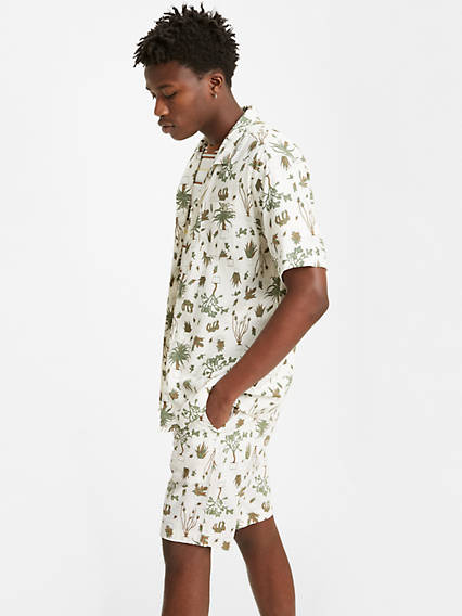 Levi's® XX Chino Taper Fit House Plant Printed 9.5 in. Mens Shorts