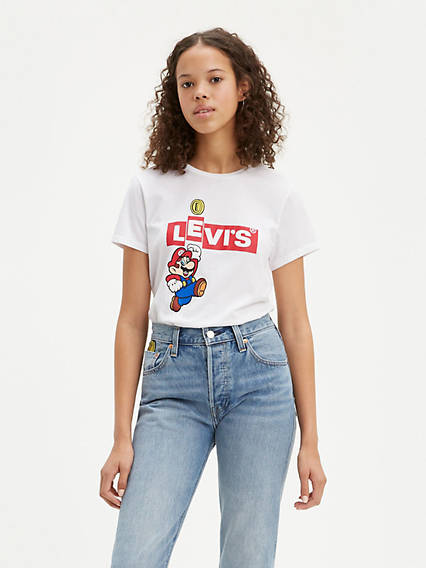 Levi's® x Super Mario The Perfect Tee