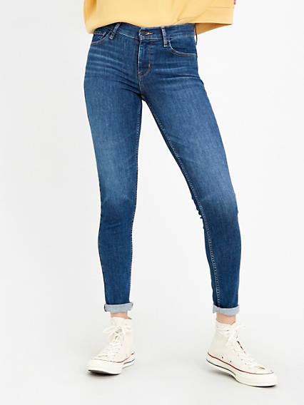 NUOVI Jeans Skinny da Donna Elasticizzato Jeggings Fit Colorato Pantaloni Taglia 8 26