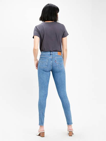 Innovation Super Skinny Jeans Niebieski | Levi's® PL