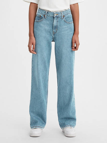 Loose Straight Women's Jeans