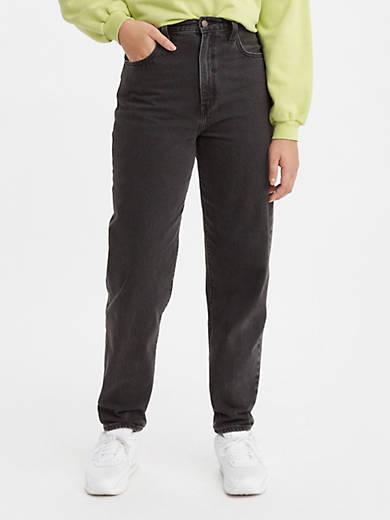 High Loose Taper Fit Women's Pants