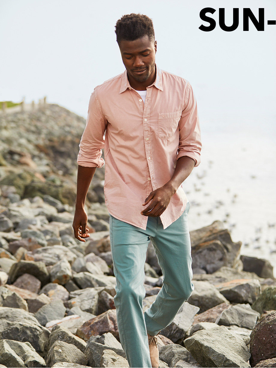 The Slim Fit Stretch Oxford