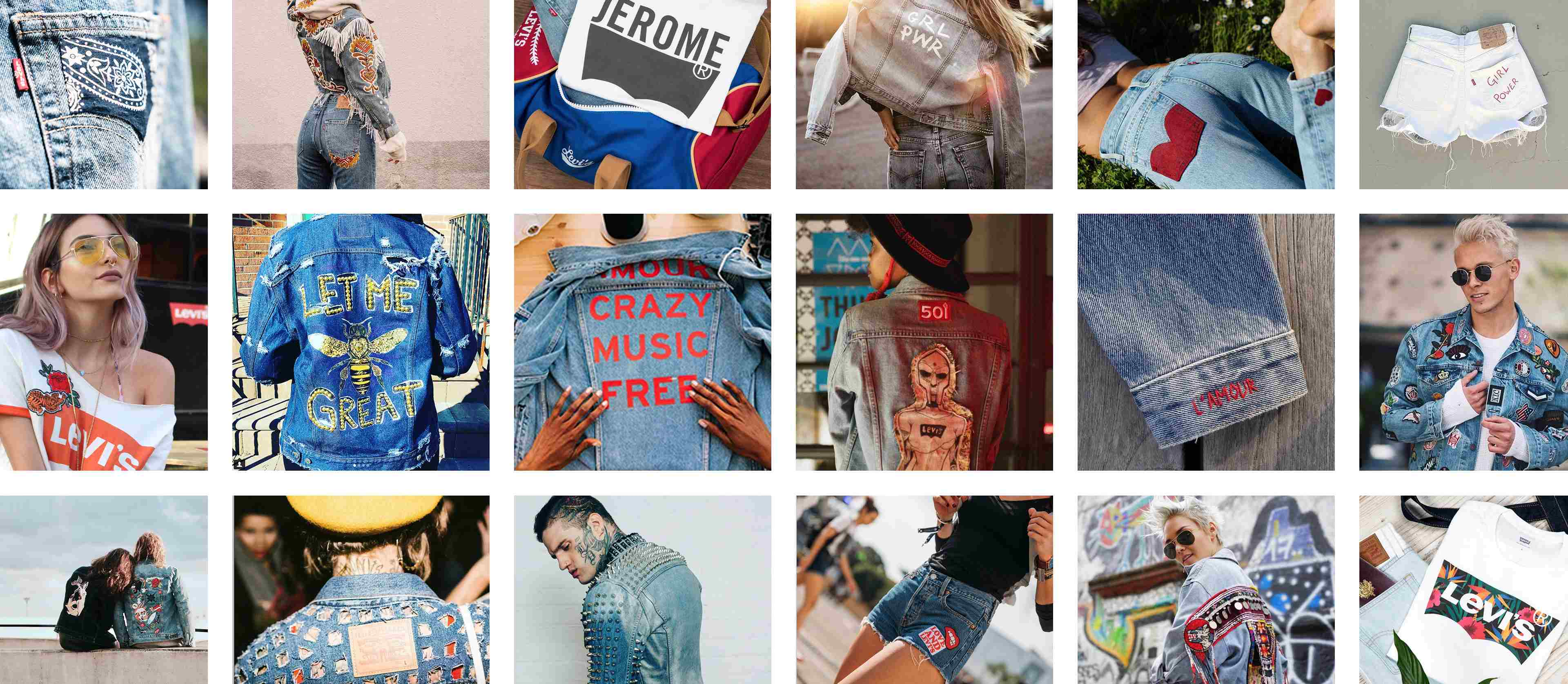 Customize Your Levi S Personalized Denim Jackets Clothing