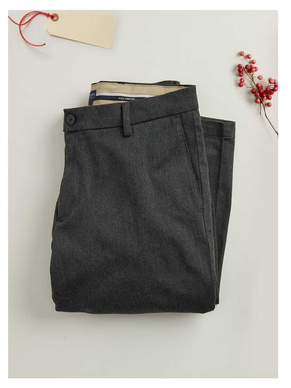 Signature Khaki in Slim Fit, Charcoal Khaki