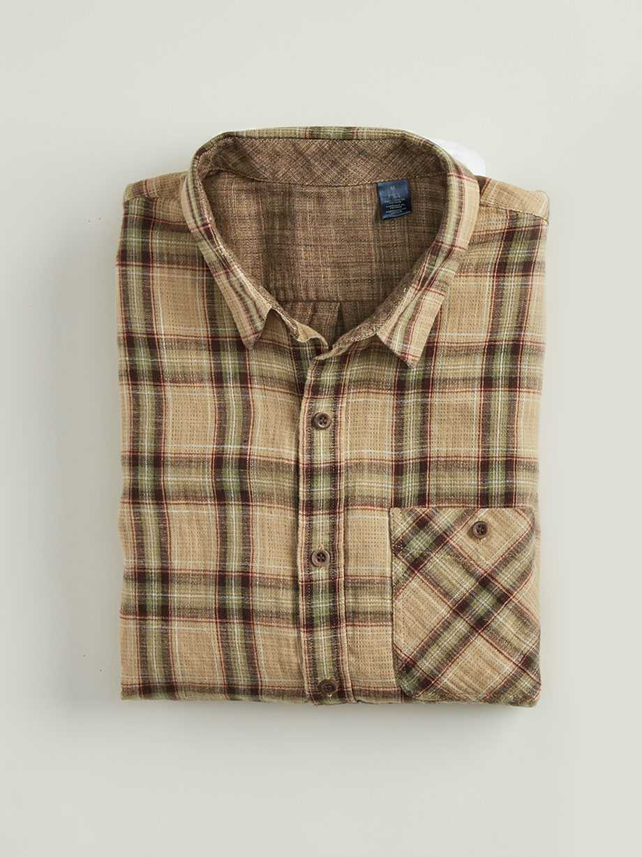 Double Weave Shirt, Brosnan Antelope