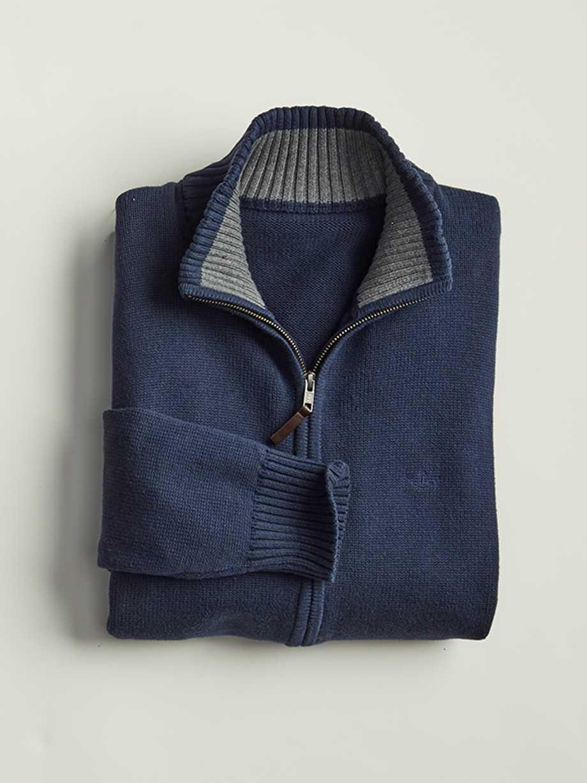 Cotton Full-Zip