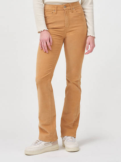 725 High Rise Bootcut Women's Corduroy Pants