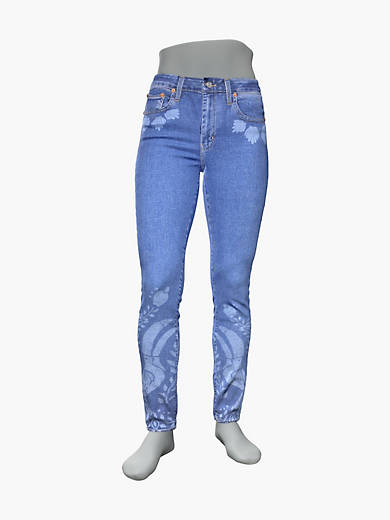 Levis 721 High Rise Skinny Womens Jeans