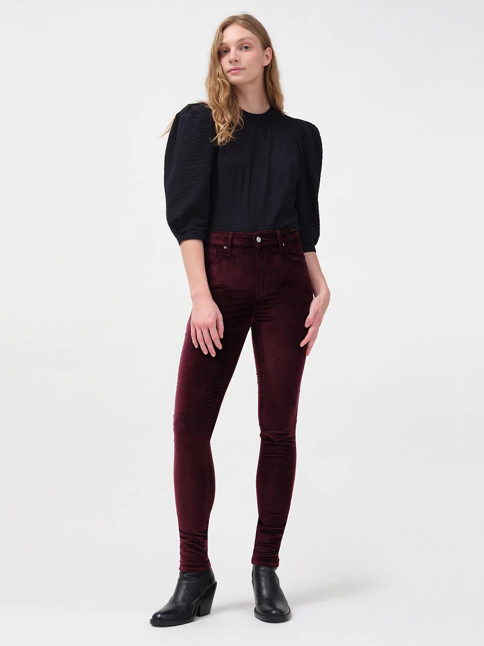 Velvet 721 High Rise Skinny Women's Jeans - Red   Levi's® US