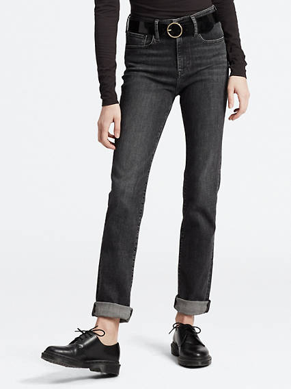 724™ High-Waisted Straight Jeans
