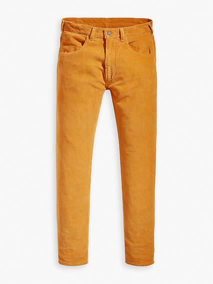 60s – 70s Mens Bell Bottom Jeans, Flares, Disco Pants Levis 1970s 519 Corduroy Pants - Mens 31 $119.98 AT vintagedancer.com