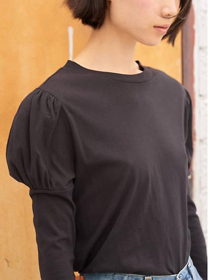 Puff Sleeve Tee Shirt