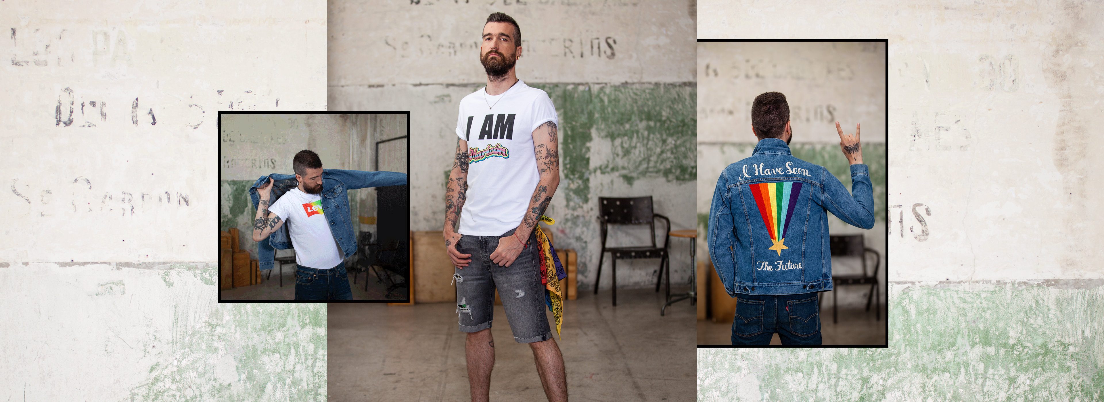 Join us in celebrating the original blue jean with a limited-edition 501® Day collection.
