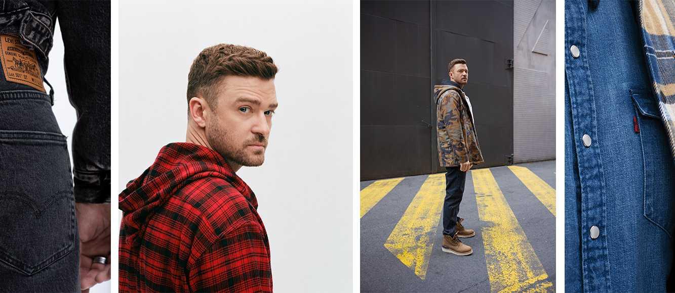Levi X Justin Timberlake