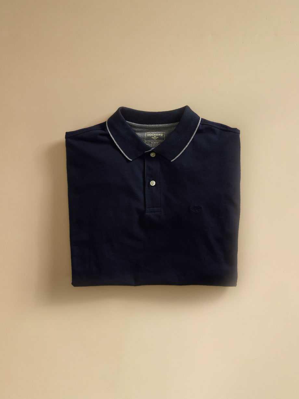 Garment Dye Polo Shirt