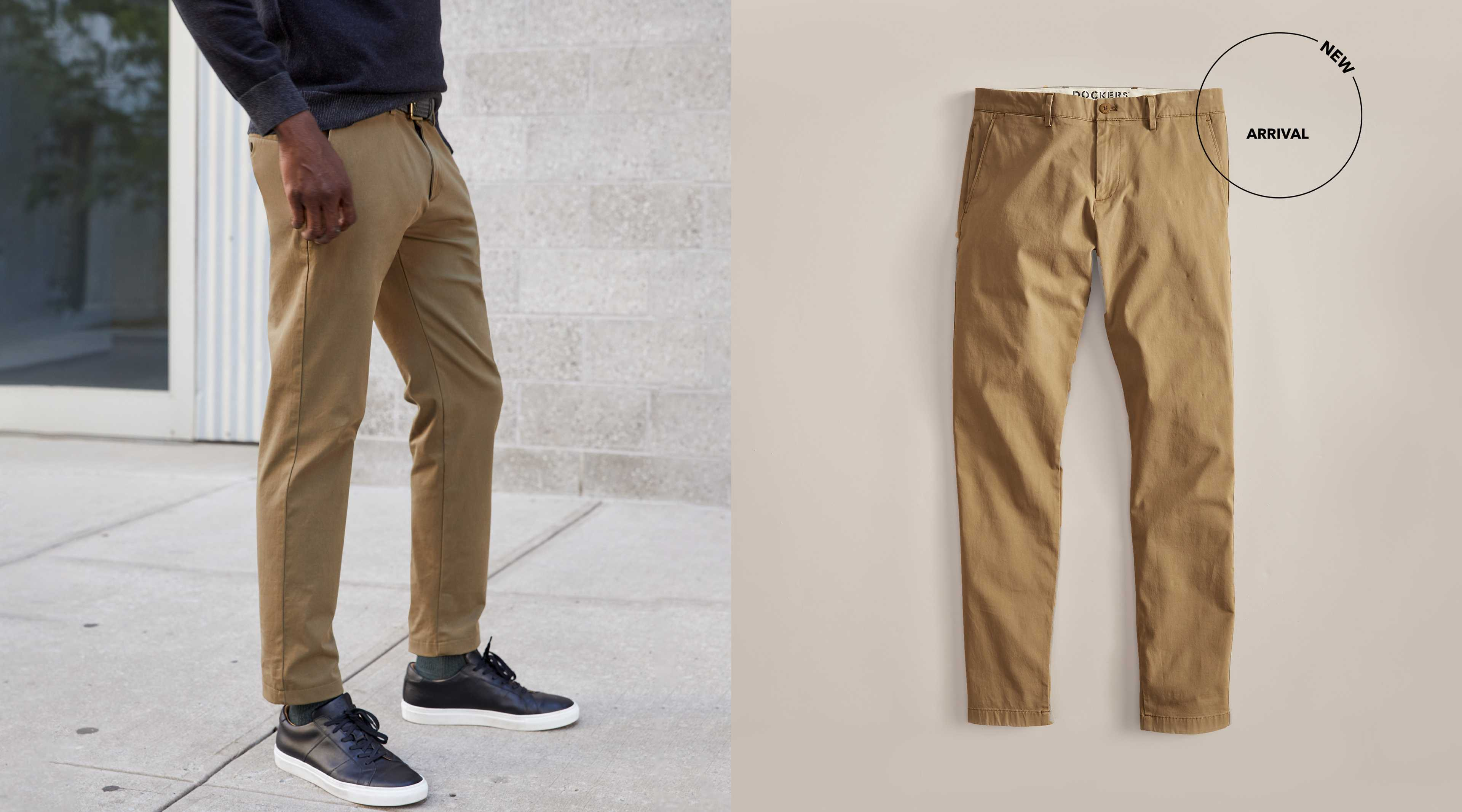 Khakis, Men's Clothing, Shoes & Accessories | Dockers®