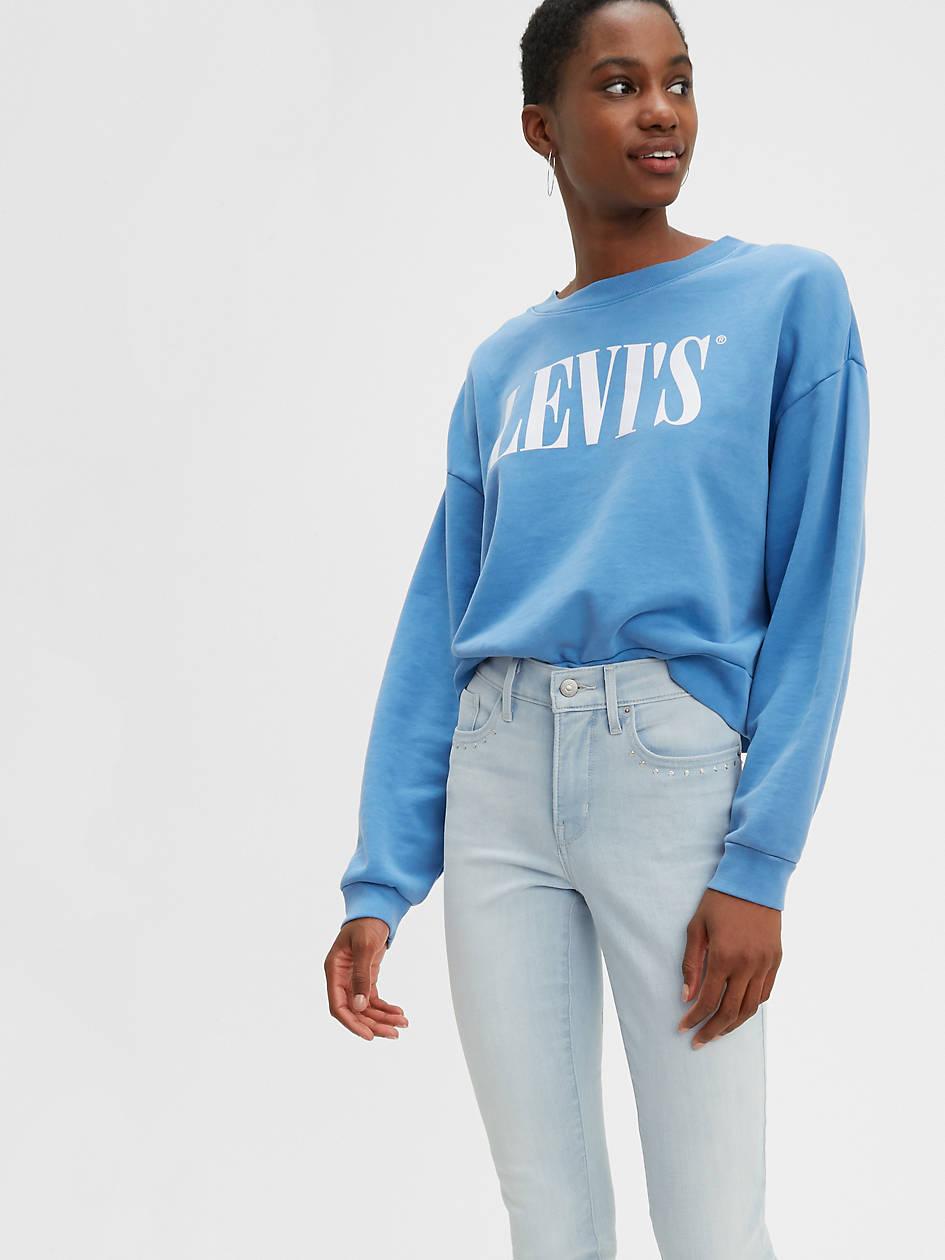 311 Shaping Skinny Women's Jeans - Light Wash | Levi's® US