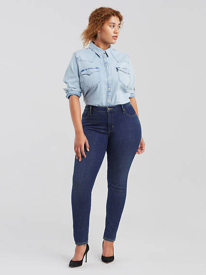 314™ Shaping Straight Jeans (Plus Size)