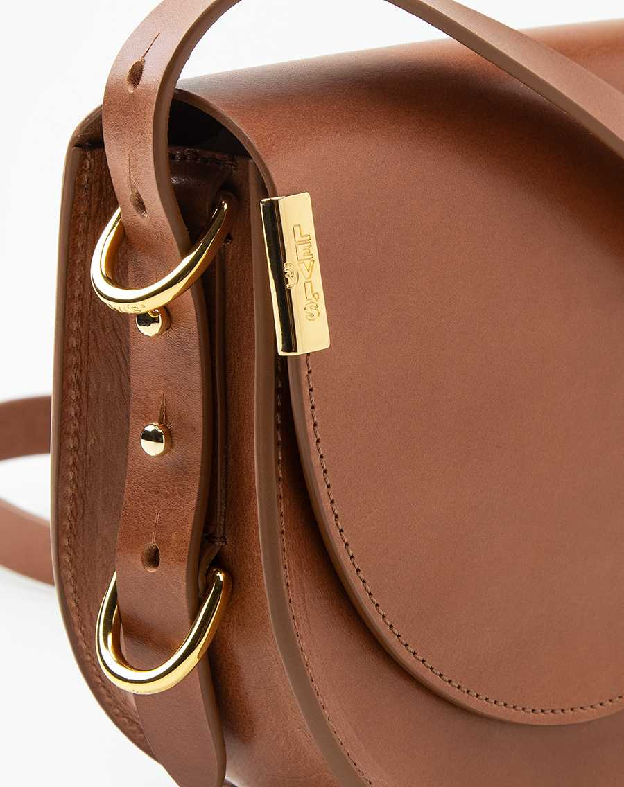 Premium Small Saddle L-Bag