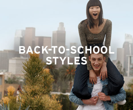 BACK-TO-SCHOOL STYLES