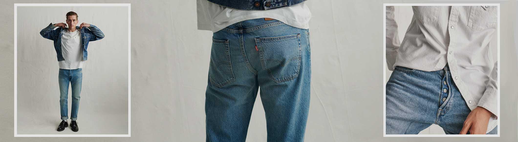 3984e4a38 Men's Shrink-to-fit™ 501® Jeans | Levi's® US
