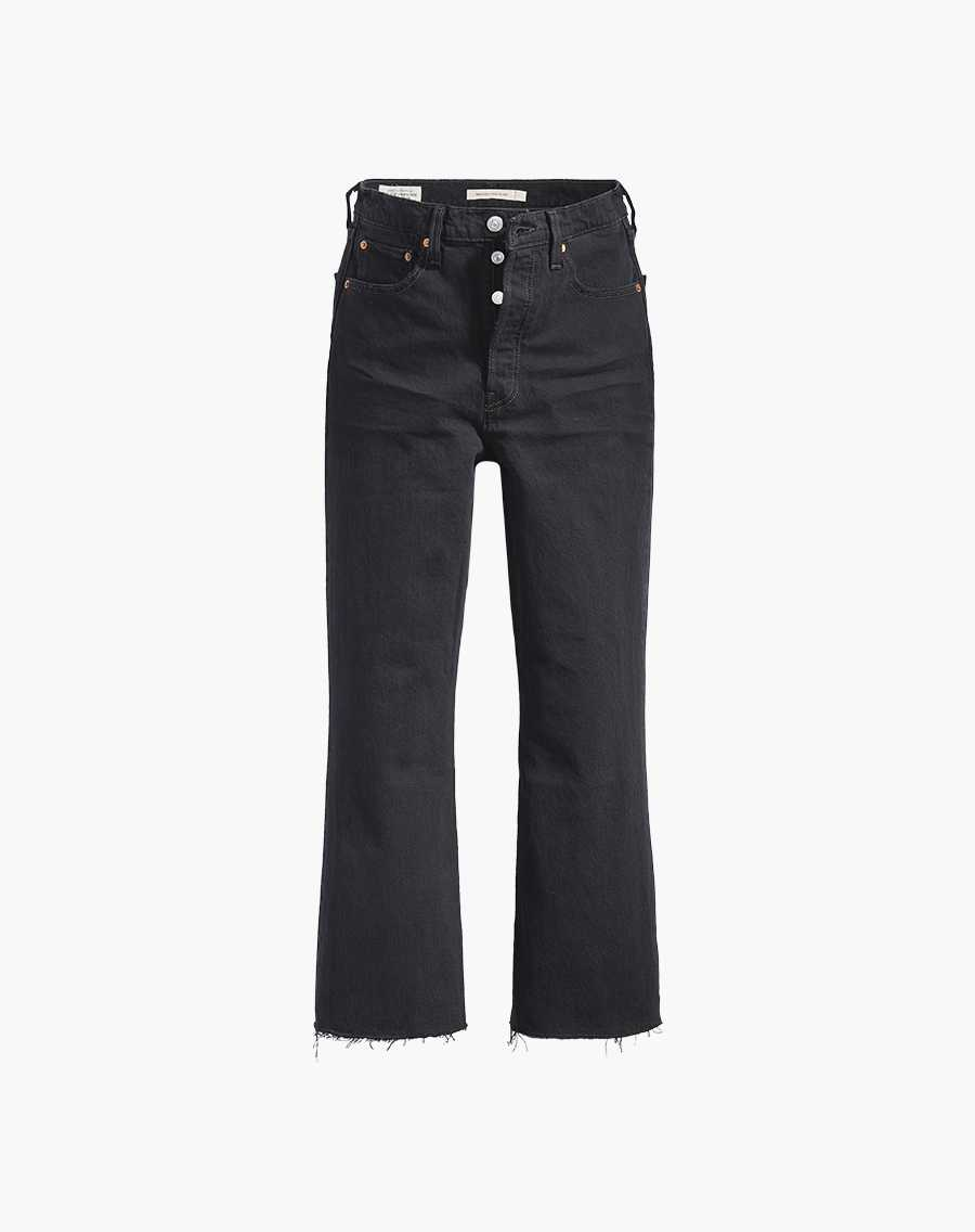 Shop Ribcage Cropped Flare Jeans