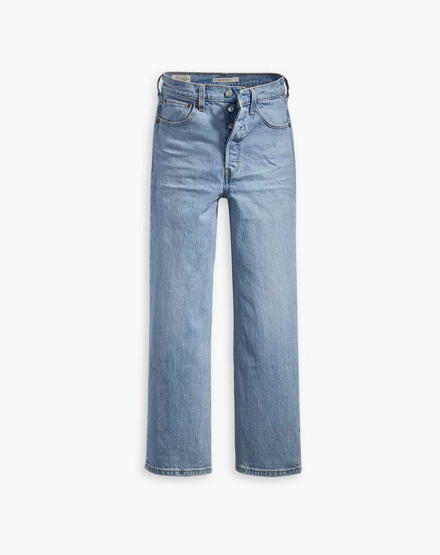 Shop Ribcage Straight Ankle Jeans
