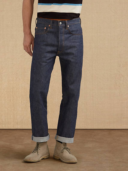 Men's Vintage Pants, Trousers, Jeans, Overalls Levis 1976 501 Jeans - Mens 30x34 $285.00 AT vintagedancer.com