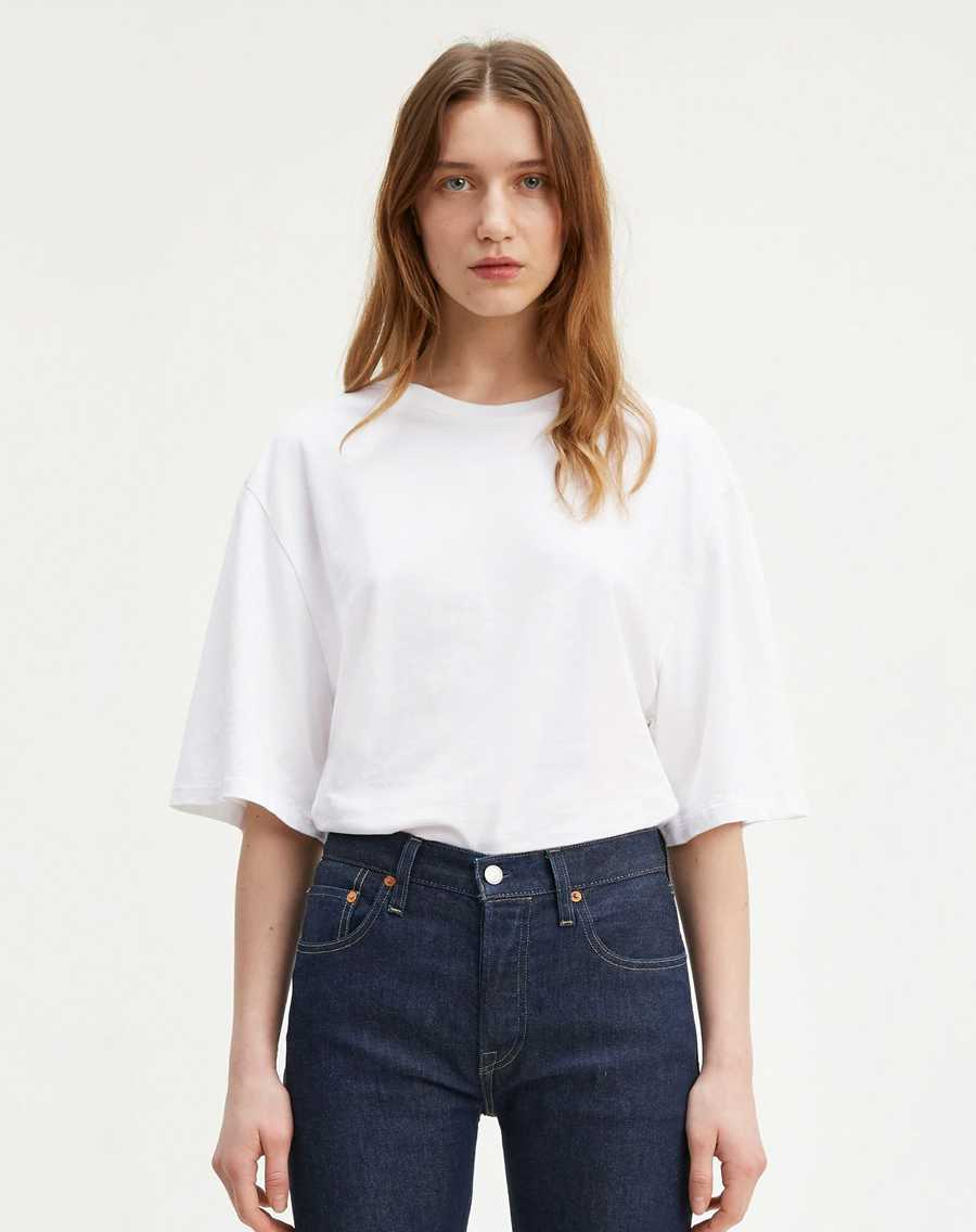 Levi's<sup>®</sup> Made & Crafted<sup>®</sup><br> Oversized Sleeve Tee