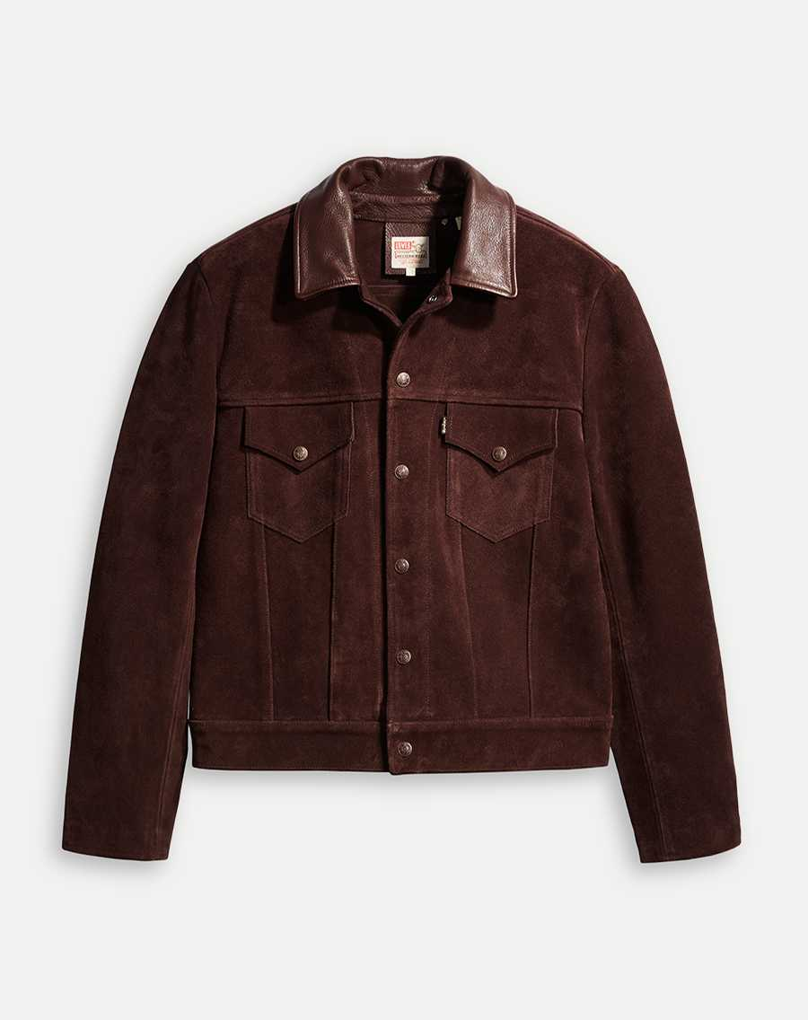 Levi's® Vintage Clothing 1960'S Suede Trucker