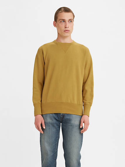 1930s Men's Clothing Levis Bay Meadows Sweatshirt - Mens L $165.00 AT vintagedancer.com