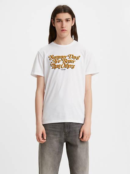 Graphic Crewneck Tee Shirt