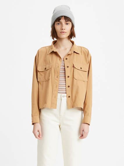 Olsen Corduroy Utility Shirt