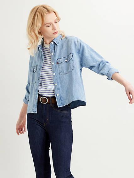 Cottonized Hemp Olsen Utility Shirt