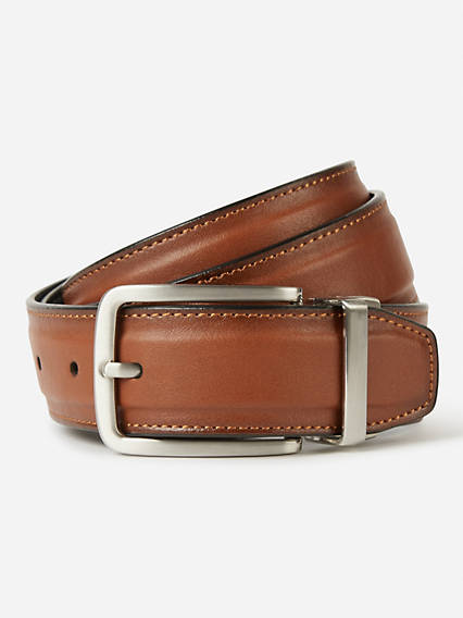 Padded Strap Reversible Belt