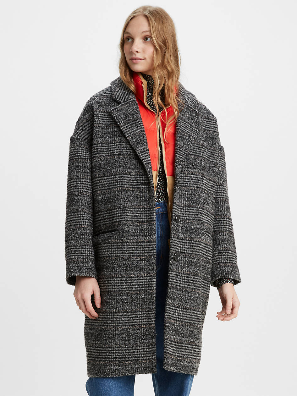 Levi's Wool Cocoon Women's Coat