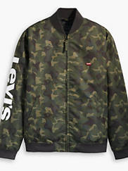 Levi's Baker Bomber Men's Jacket (Deep Camo-Green)