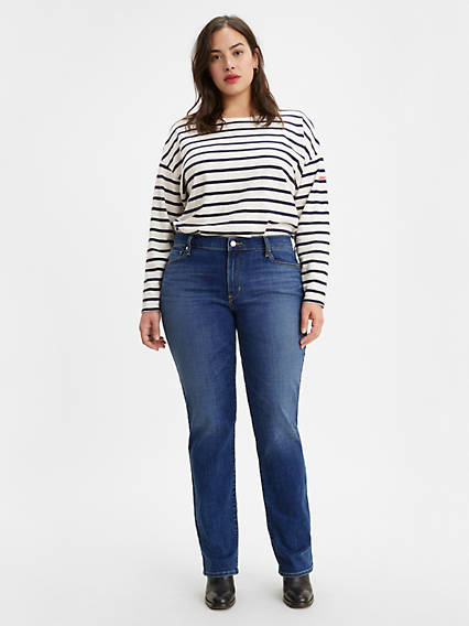 414 Classic Straight Women's Jeans (Plus Size)