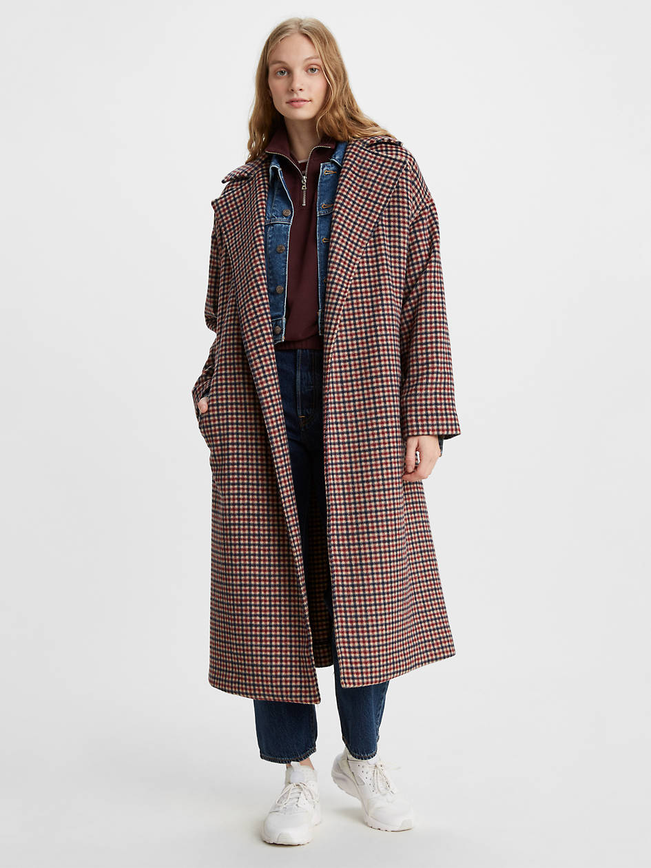 Long Wool Coat - Multi-color | Levi's® US