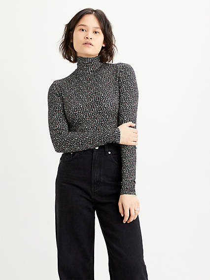 Louie Turtleneck Bodysuit