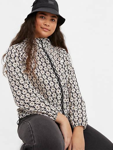 Lina Packable Windbreaker Jacket
