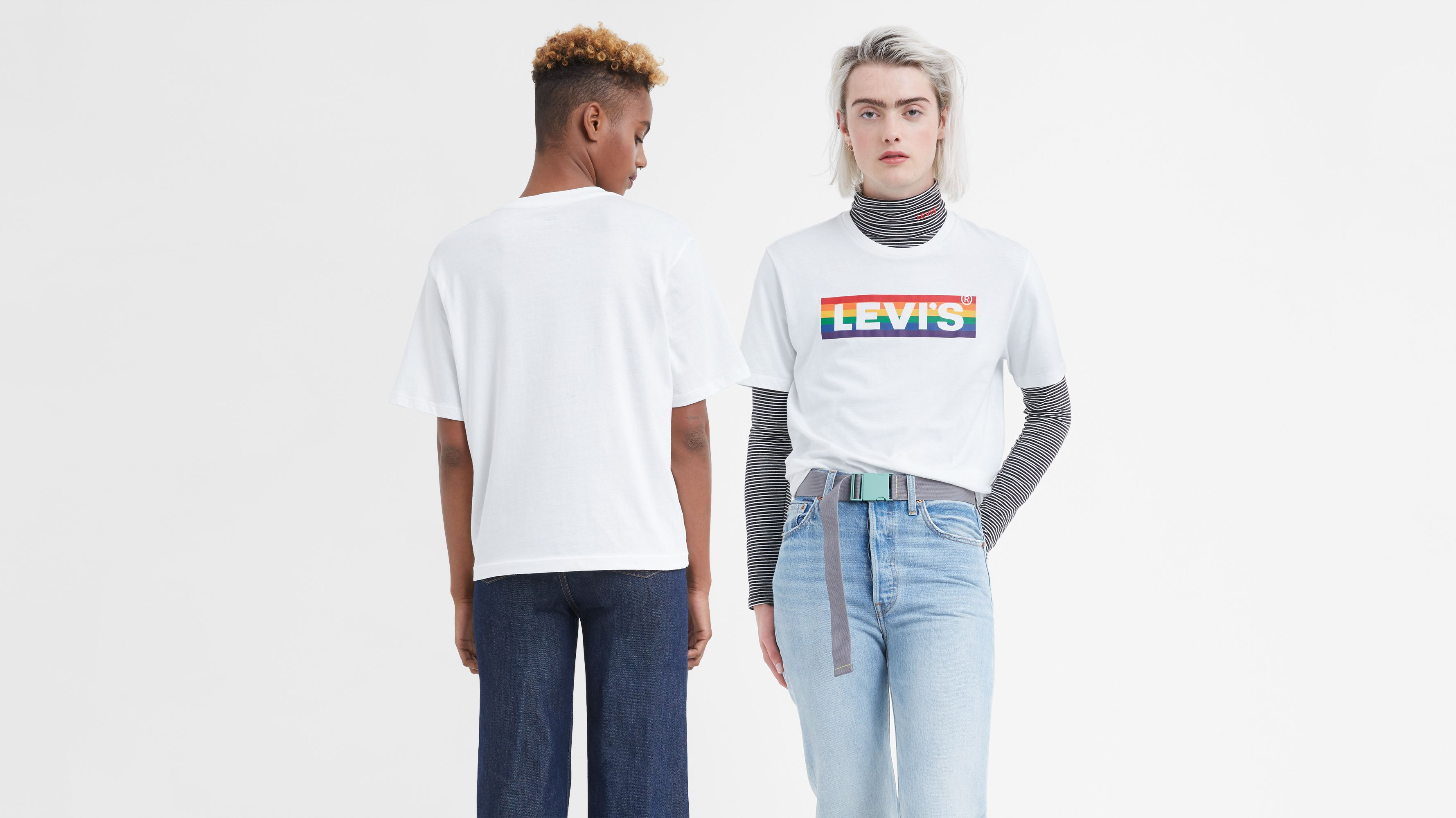 Levis Pride Community Graphic Tee Shirt