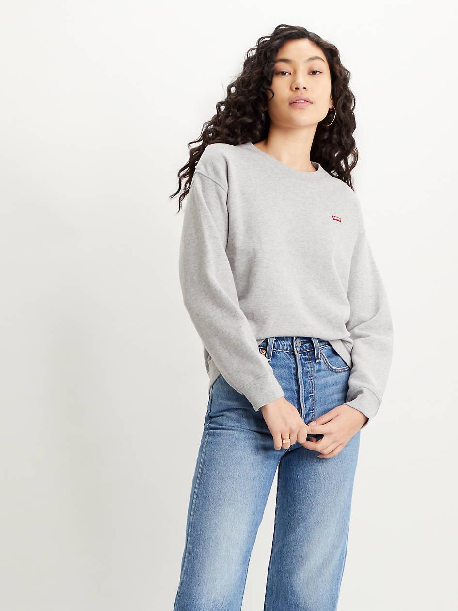 Standard Crewneck Sweatshirt - Grey   Levi's® US