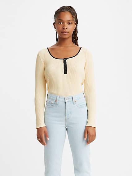 Brandy Long Sleeve Tee Shirt