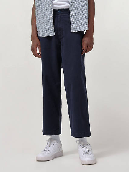 Stay Loose Cropped Chino Pants
